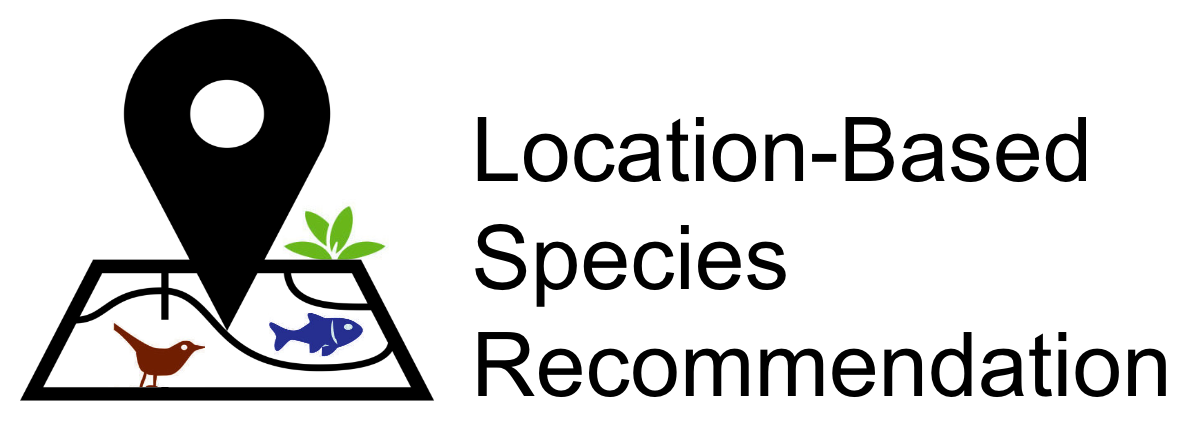 Location-Based Species Recommendation